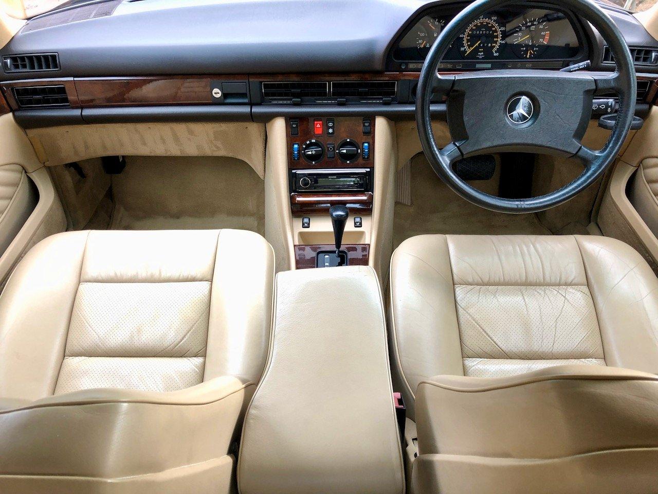1989 **DEPOSIT TAKEN** Mercedes 500SEC C126 560SEC 420 SEC For Sale (picture 6 of 6)