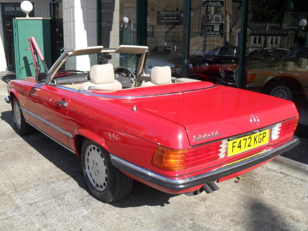 1988 Mercedes Benz 500SL For Sale (picture 3 of 6)
