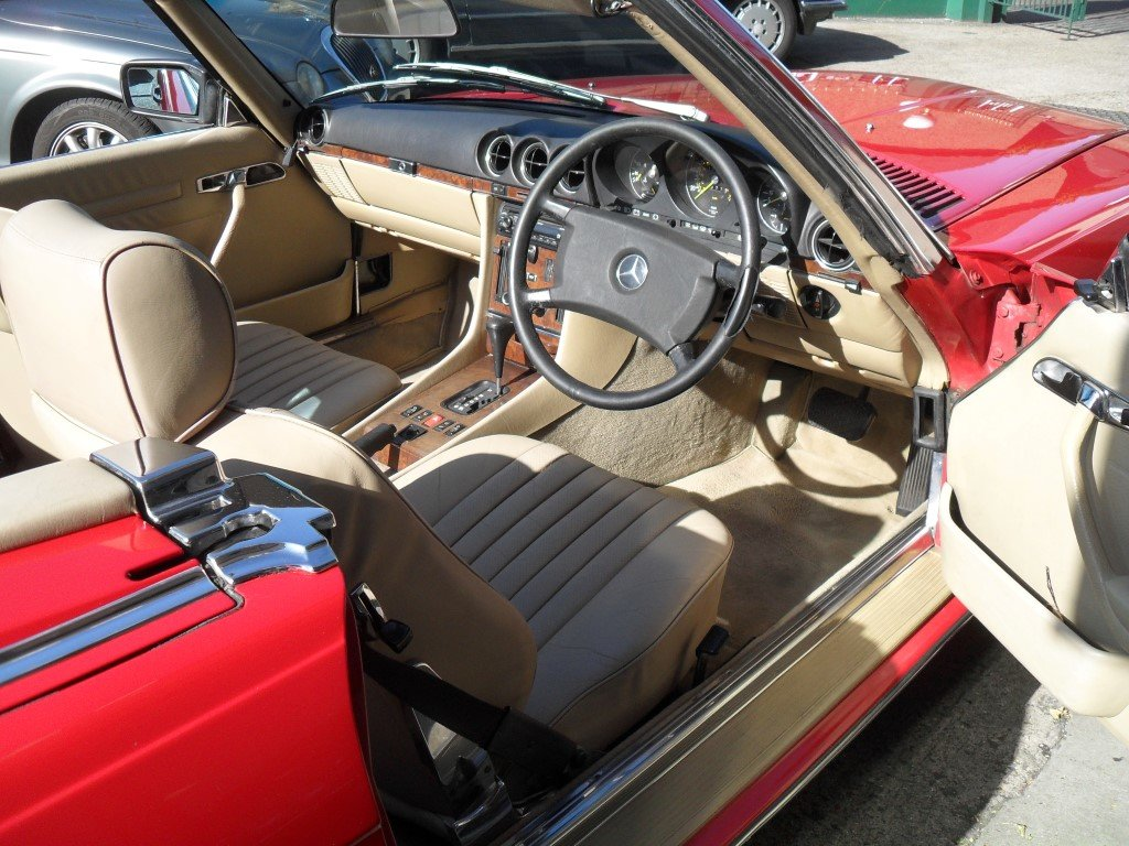 1988 Mercedes Benz 500SL For Sale (picture 4 of 6)