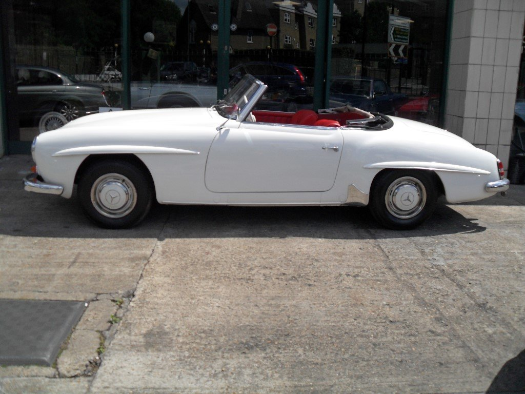 1961 Mercedes Benz 190SL For Sale (picture 3 of 6)