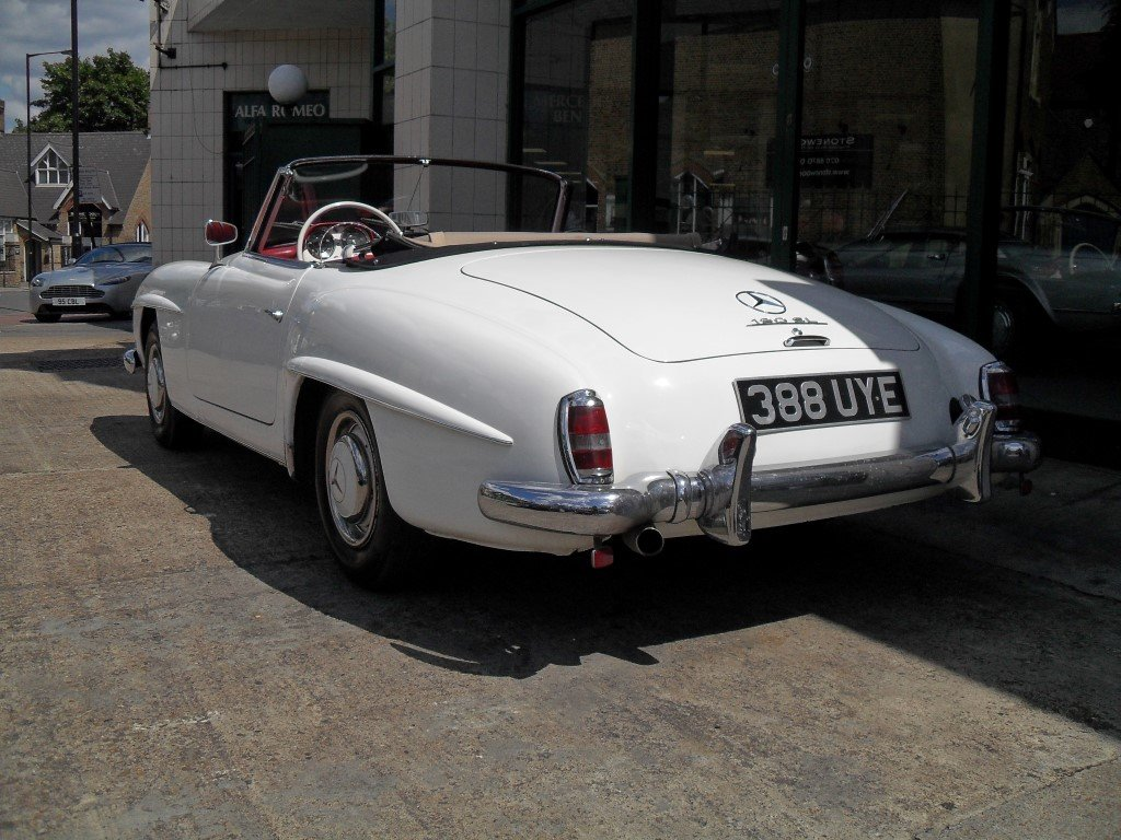 1961 Mercedes Benz 190SL For Sale (picture 5 of 6)