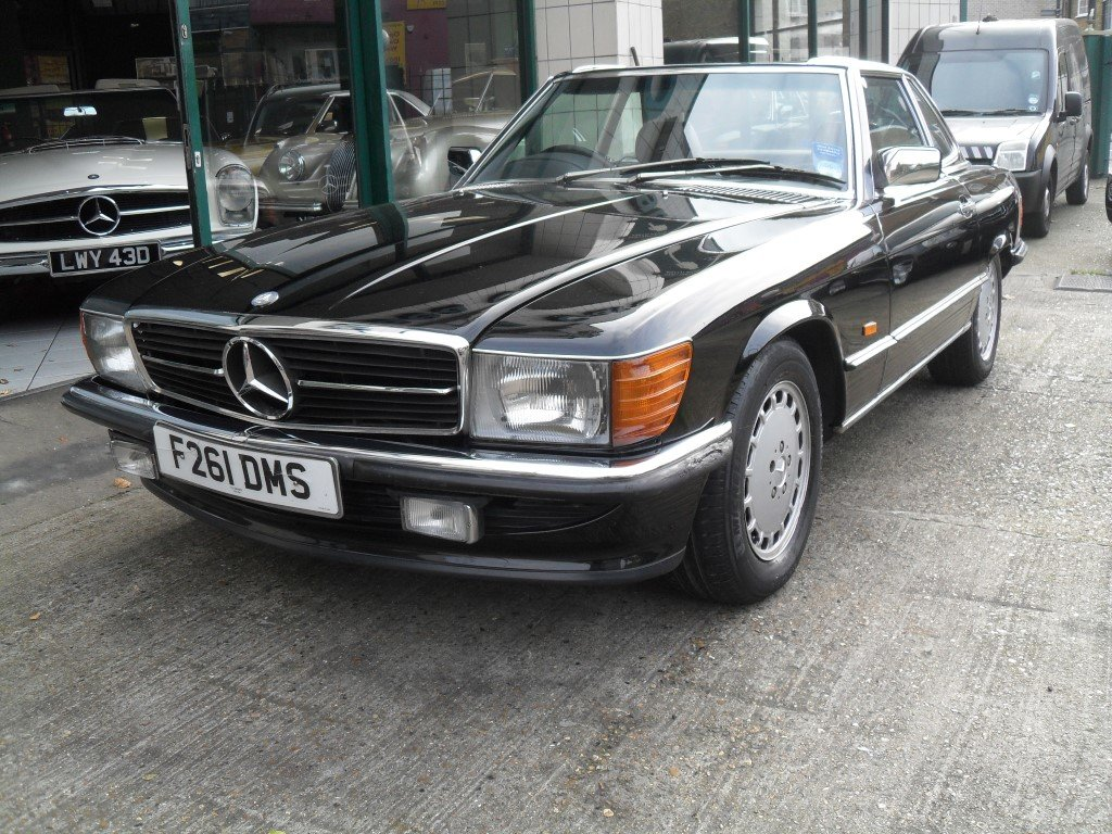 1989 Mercedes Benz 300SL For Sale (picture 1 of 6)