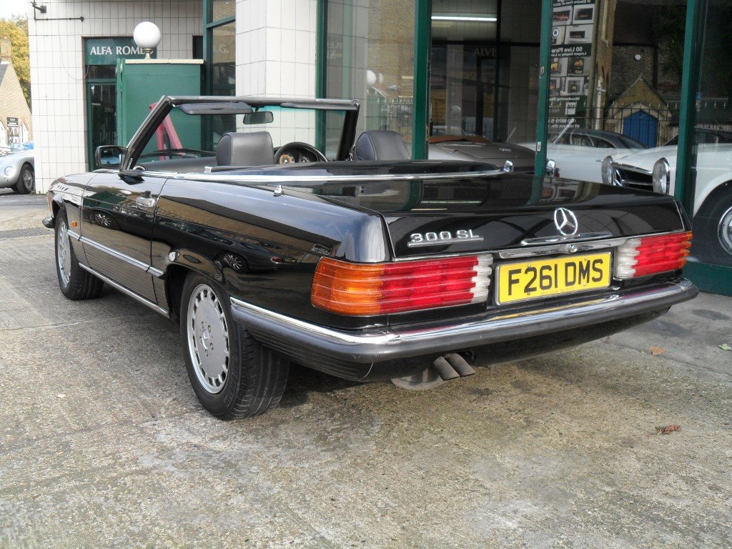 1989 Mercedes Benz 300SL For Sale (picture 5 of 6)