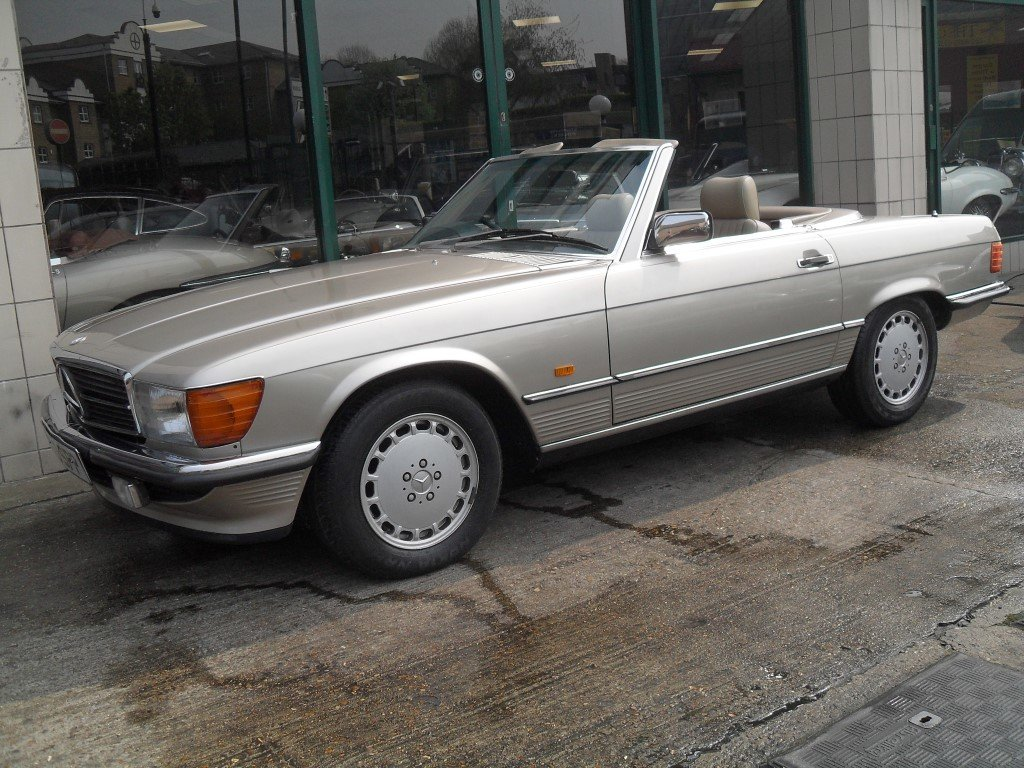 1987 Mercedes Benz 300SL For Sale (picture 3 of 5)