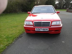 1998 S MERCEDES C180 ELEGANCE, 4 DOOR