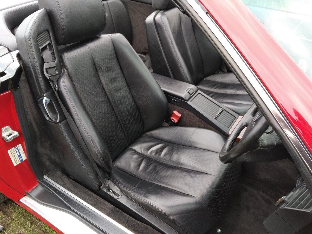Mercedes SL60 AMG Roadster 6.0 Litre V8 – 1995N For Sale (picture 6 of 6)