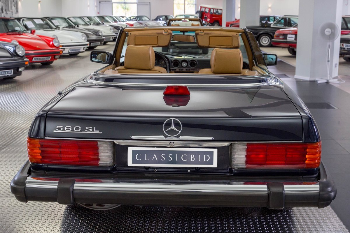 1987 Mercedes-Benz 560 SL For Sale (picture 3 of 6)