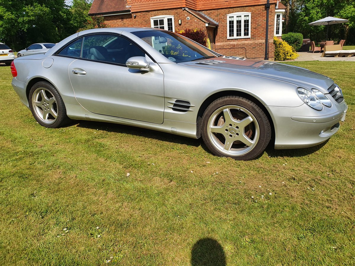 2003 Mercedes SL500 convertible 28K miles full history For Sale (picture 1 of 6)