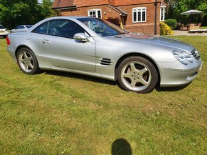 2003 Mercedes SL500 convertible 28K miles full history