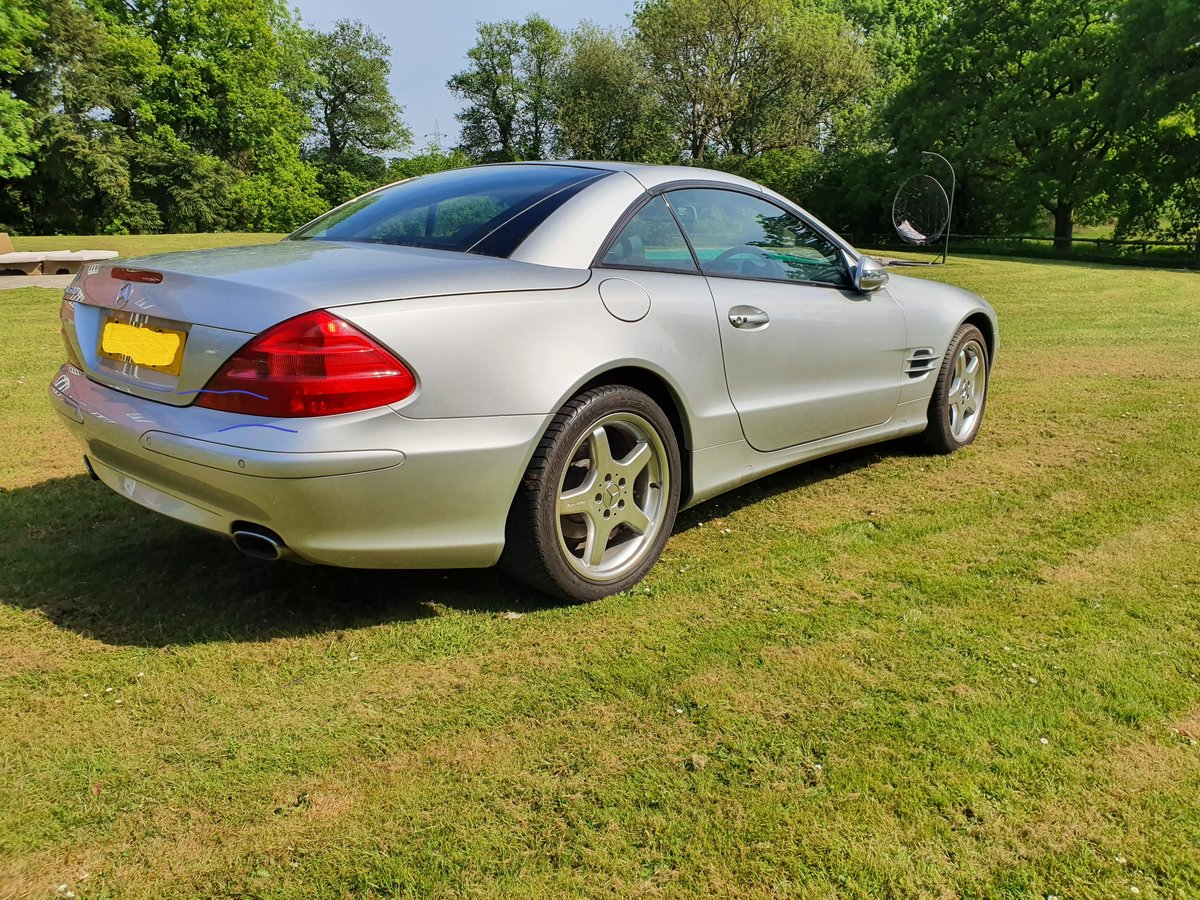 2003 Mercedes SL500 convertible 28K miles full history For Sale (picture 2 of 6)