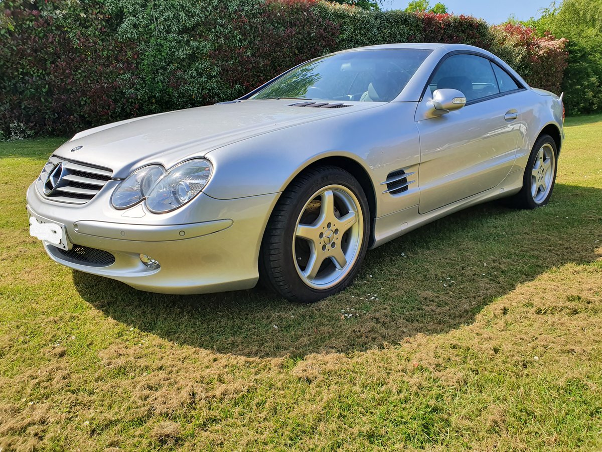 2003 Mercedes SL500 convertible 28K miles full history For Sale (picture 3 of 6)