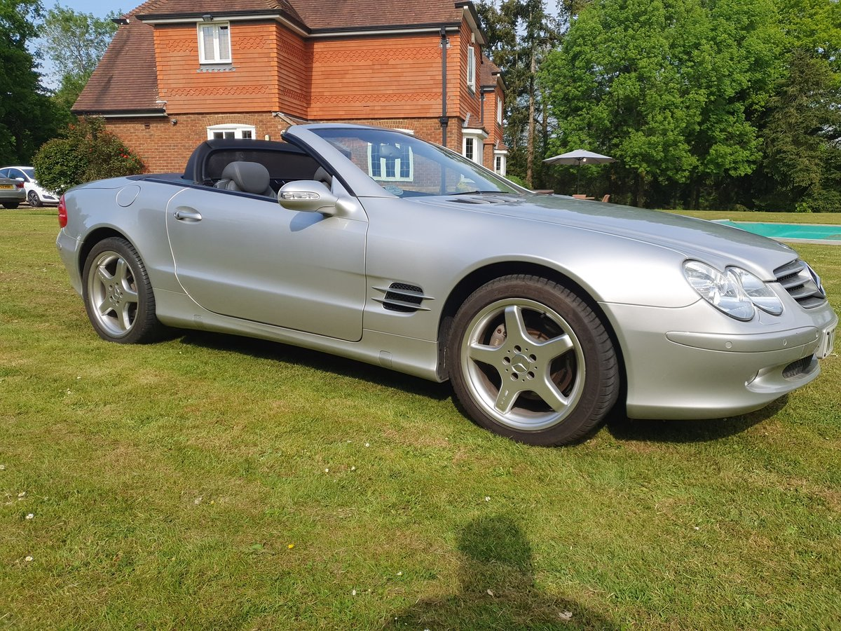 2003 Mercedes SL500 convertible 28K miles full history For Sale (picture 4 of 6)