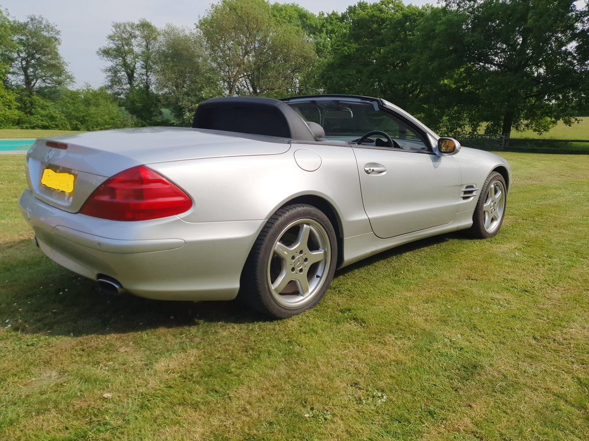 2003 Mercedes SL500 convertible 28K miles full history For Sale (picture 5 of 6)