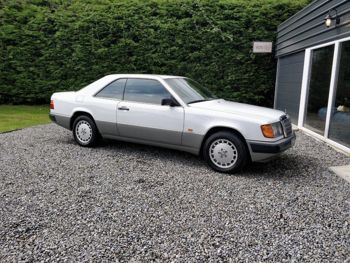 1988 Mercedes 230ce with Big History For Sale (picture 1 of 6)