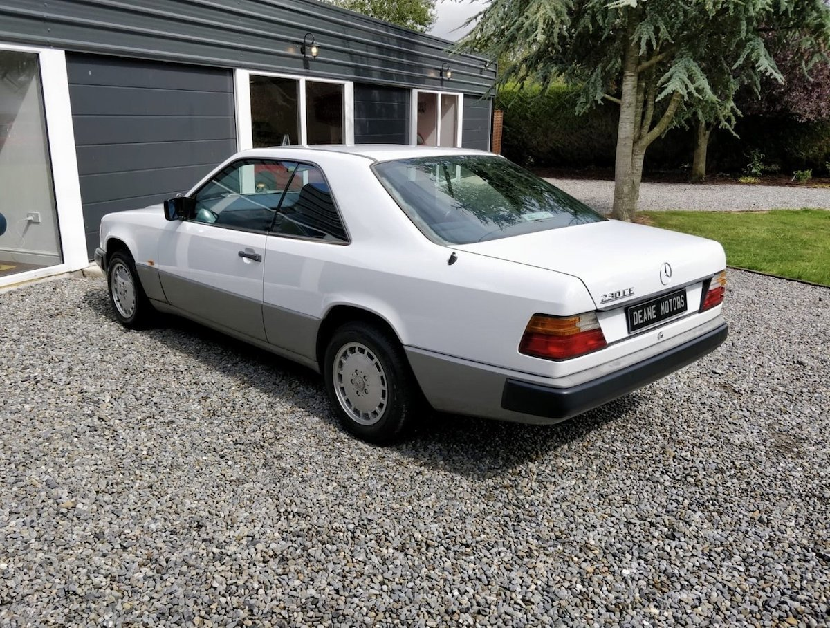 1988 Mercedes 230ce with Big History For Sale (picture 3 of 6)