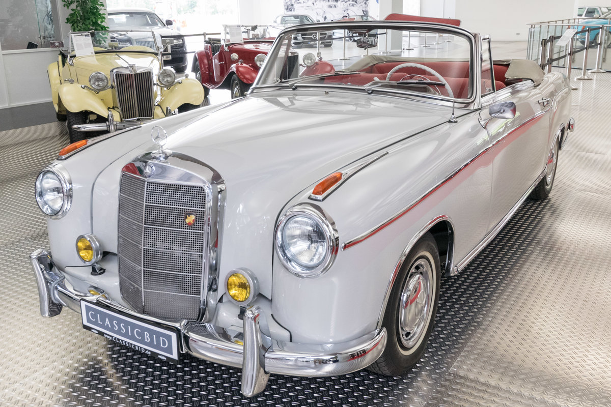 1957 Mercedes-Benz 220 S Ponton Cabrio For Sale (picture 1 of 6)