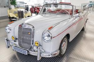 1957 Mercedes-Benz 220 S Ponton Cabrio