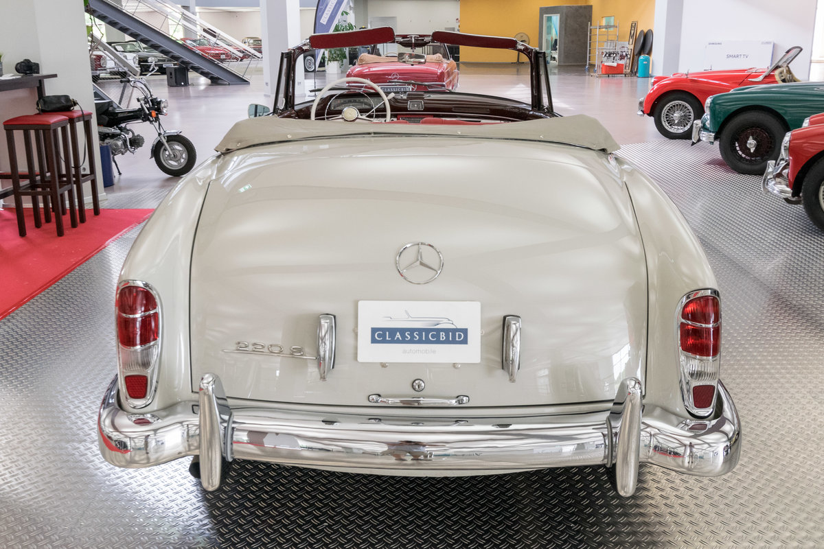 1957 Mercedes-Benz 220 S Ponton Cabrio For Sale (picture 3 of 6)