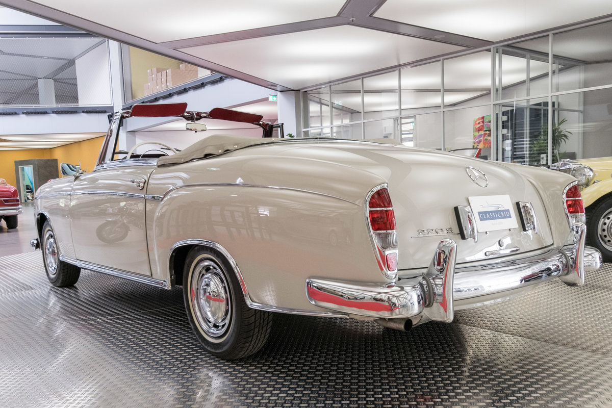 1957 Mercedes-Benz 220 S Ponton Cabrio For Sale (picture 4 of 6)