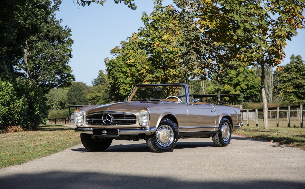 1971 Mercedes-Benz 280 SL Pagoda For Sale (picture 1 of 19)
