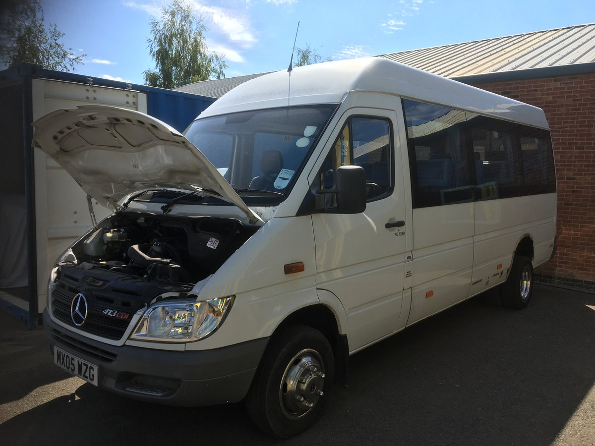 2005 Mercedes Sprinter - 16 Passenger seats + Driver SOLD (picture 3 of 6)