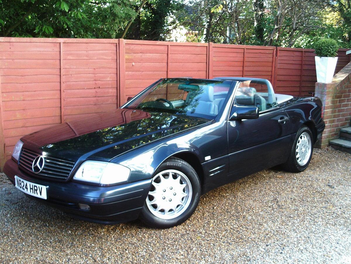 1996 Mercedes 280 sl (with hard top) For Sale (picture 1 of 6)