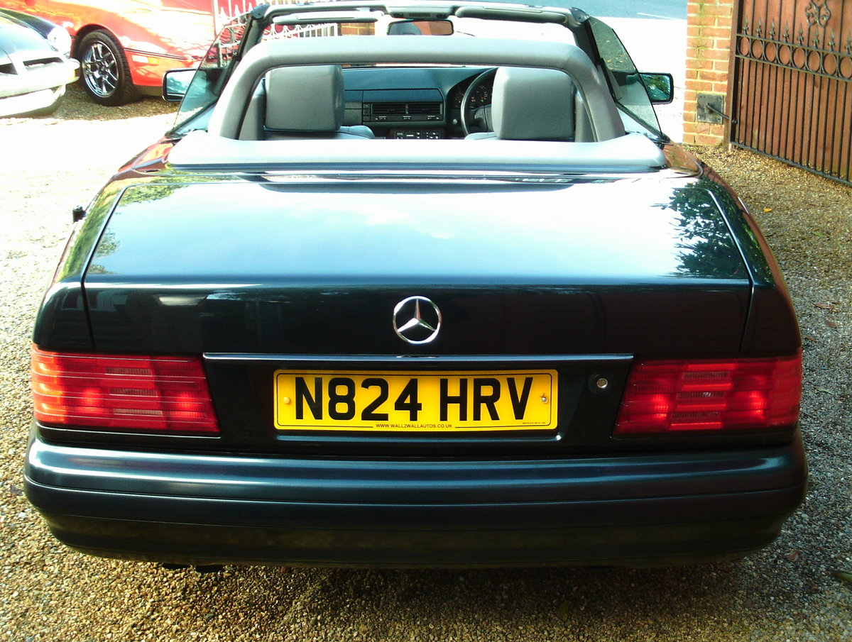 1996 Mercedes 280 sl (with hard top) For Sale (picture 5 of 6)