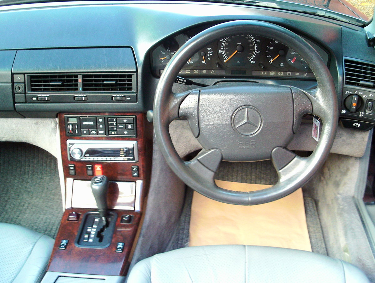 1996 Mercedes 280 sl (with hard top) For Sale (picture 6 of 6)