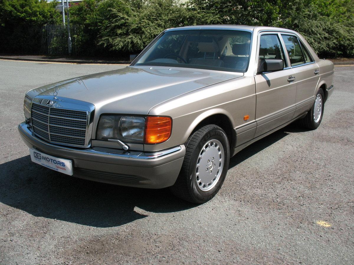 Mercedes Benz 500SE W126 1991 'H' Reg, Auto, Beautiful Car For Sale (picture 1 of 6)
