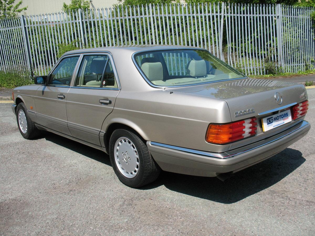Mercedes Benz 500SE W126 1991 'H' Reg, Auto, Beautiful Car For Sale (picture 2 of 6)