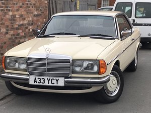 1983 Mercedes 230CE For Sale