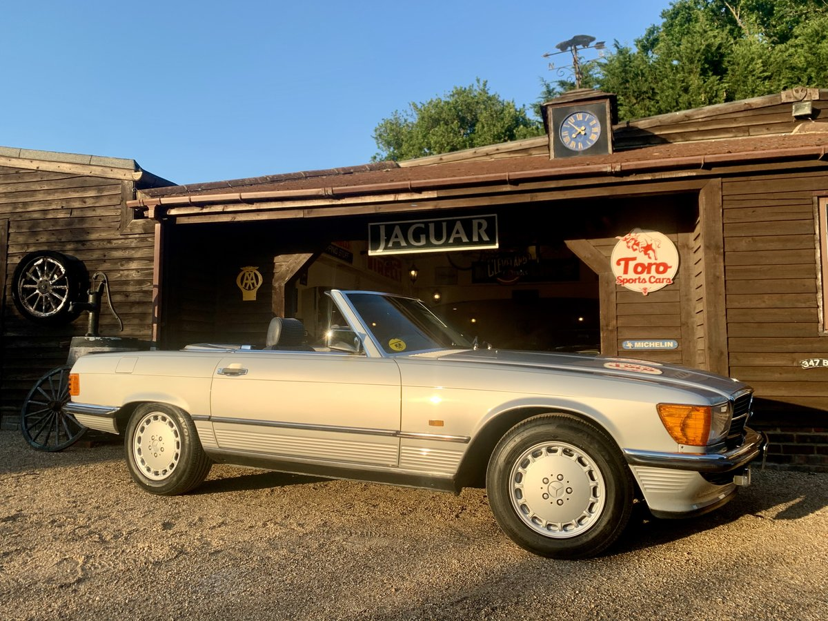 1986 MERCEDES R107 300 SL For Sale (picture 1 of 6)