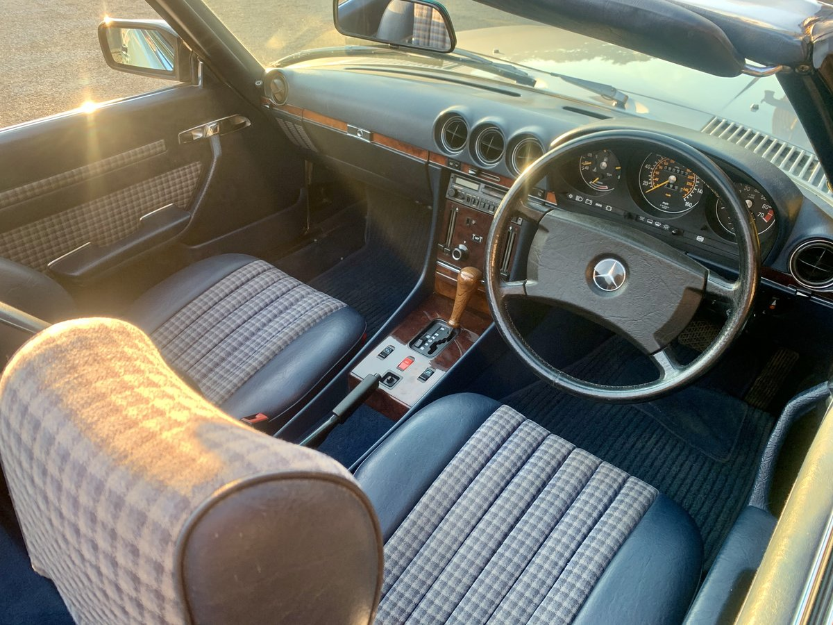 1986 MERCEDES R107 300 SL For Sale (picture 4 of 6)