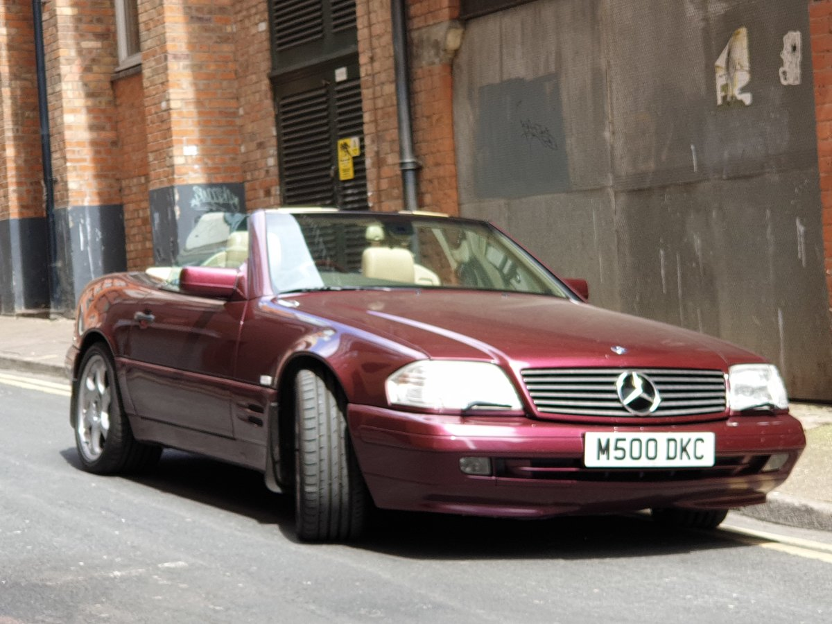 1997 Mercedes SL500  For Sale (picture 5 of 6)