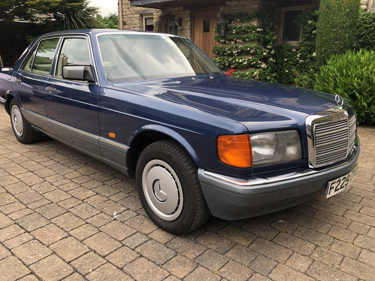1988 Outstanding Classic Mercedes 300SE For Sale (picture 1 of 6)