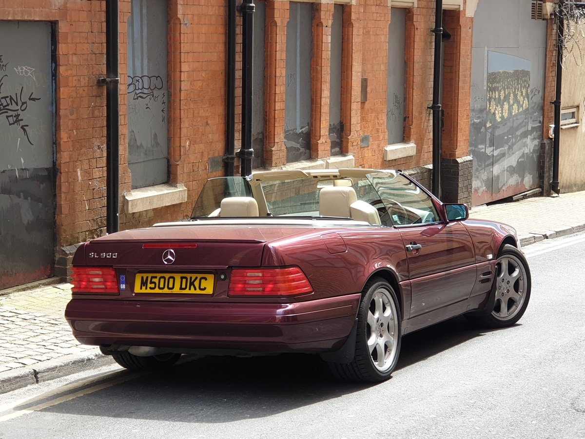 1997 Mercedes SL500  For Sale (picture 6 of 6)