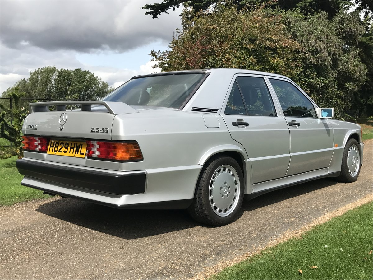 1991 Mercedes 190E 2.5-16 Cosworth - RHD / Manual / Exceptional For Sale (picture 2 of 6)