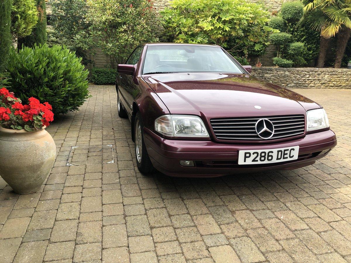 1997 Mercedes 280SL Auto For Sale (picture 1 of 6)