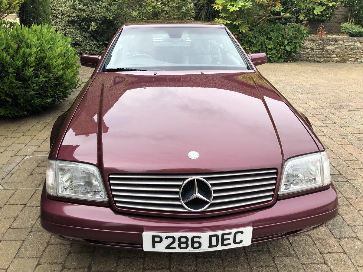 1997 Mercedes 280SL Auto For Sale (picture 4 of 6)