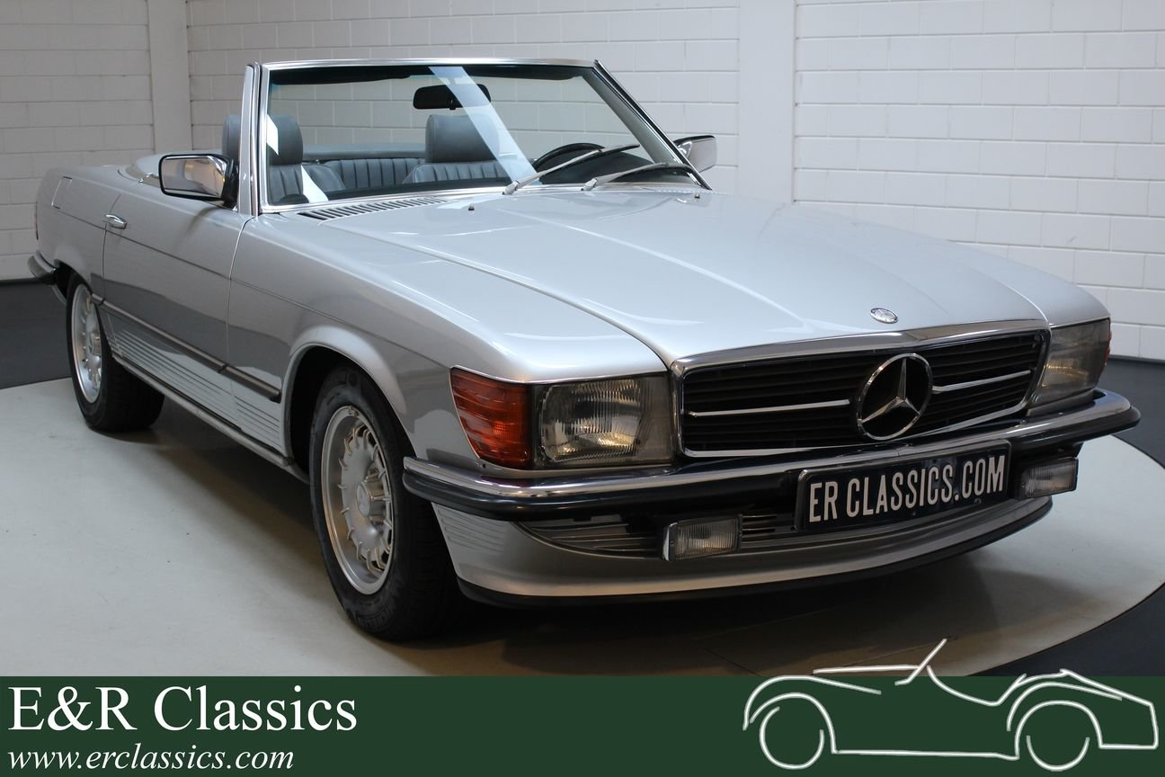 Mercedes-Benz 350SL Cabriolet 1972 Very good condition For Sale (picture 1 of 6)