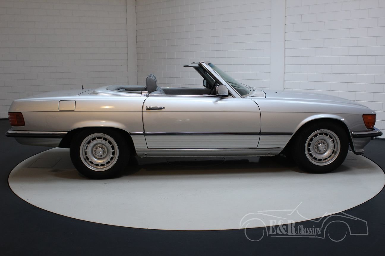 Mercedes-Benz 350SL Cabriolet 1972 Very good condition For Sale (picture 5 of 6)