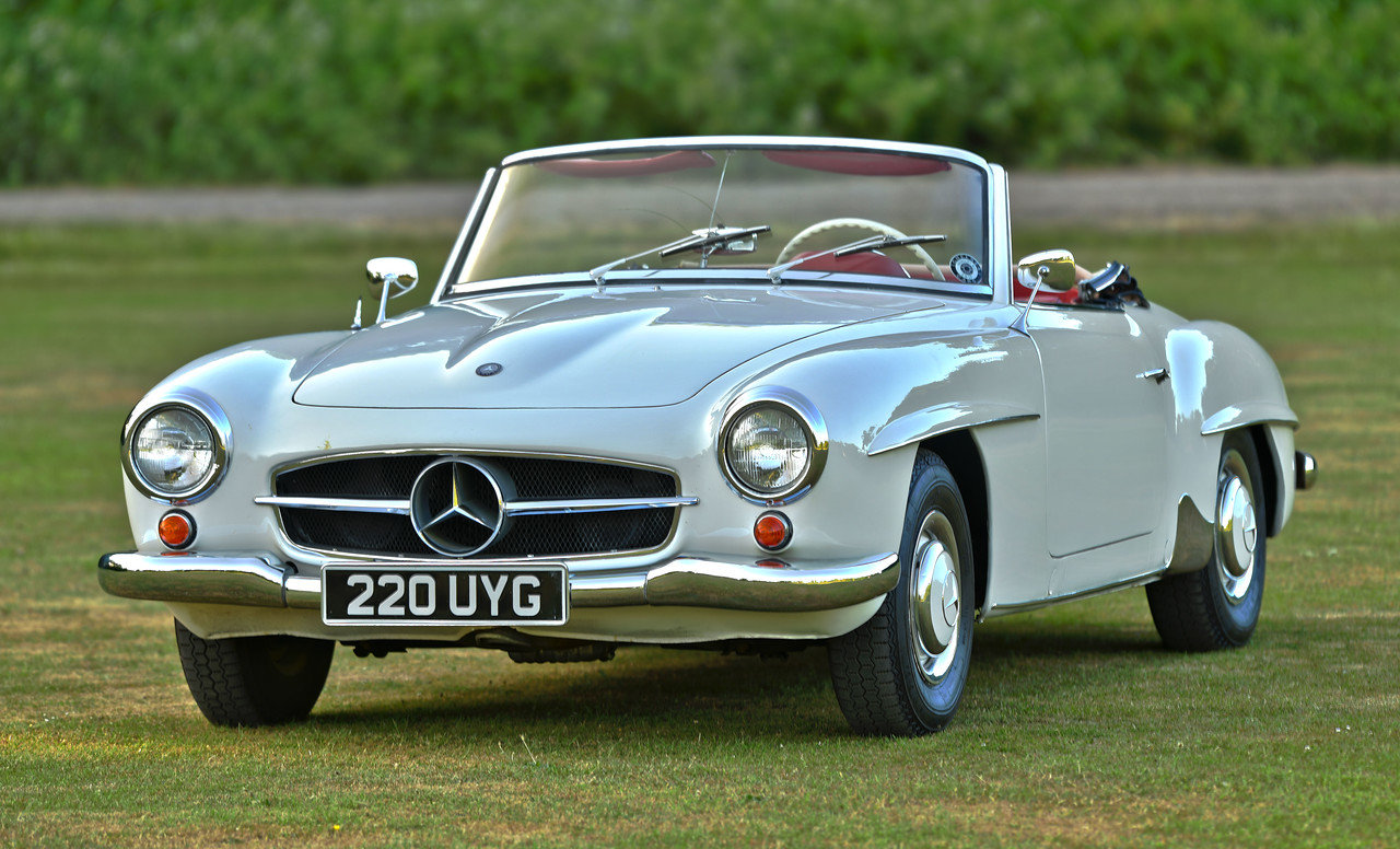 1960 Mercedes 190SL Left Hand Drive LHD For Sale (picture 1 of 6)