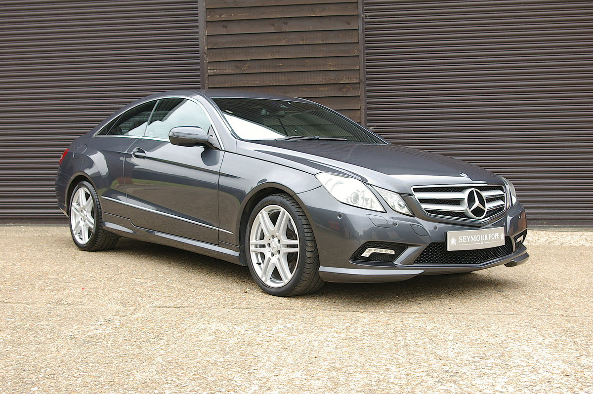 2009 Mercedes Benz E500 5.5 V8 Coupe 7G-Tronic Plus (53500 miles) For Sale (picture 1 of 6)