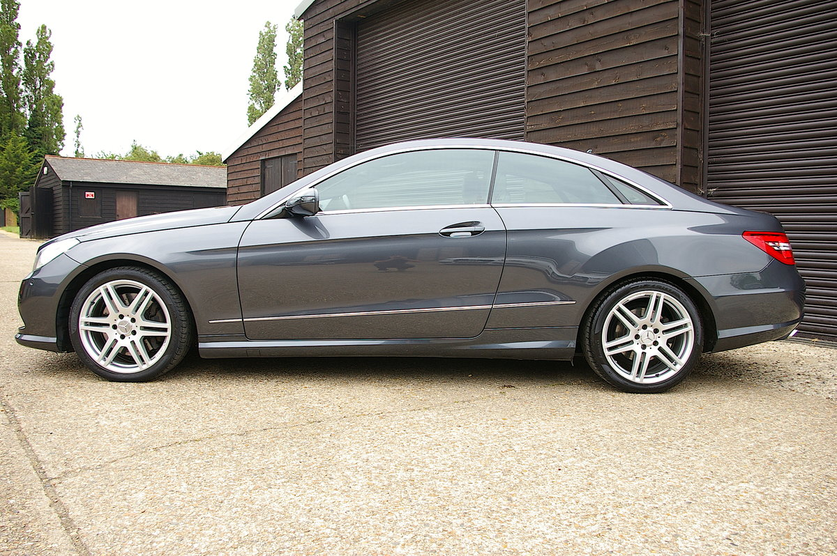 2009 Mercedes Benz E500 5.5 V8 Coupe 7G-Tronic Plus (53500 miles) For Sale (picture 2 of 6)