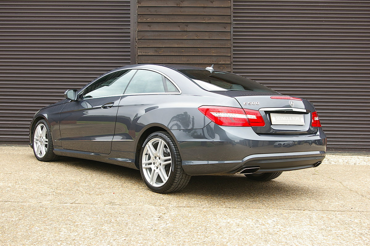 2009 Mercedes Benz E500 5.5 V8 Coupe 7G-Tronic Plus (53500 miles) For Sale (picture 3 of 6)