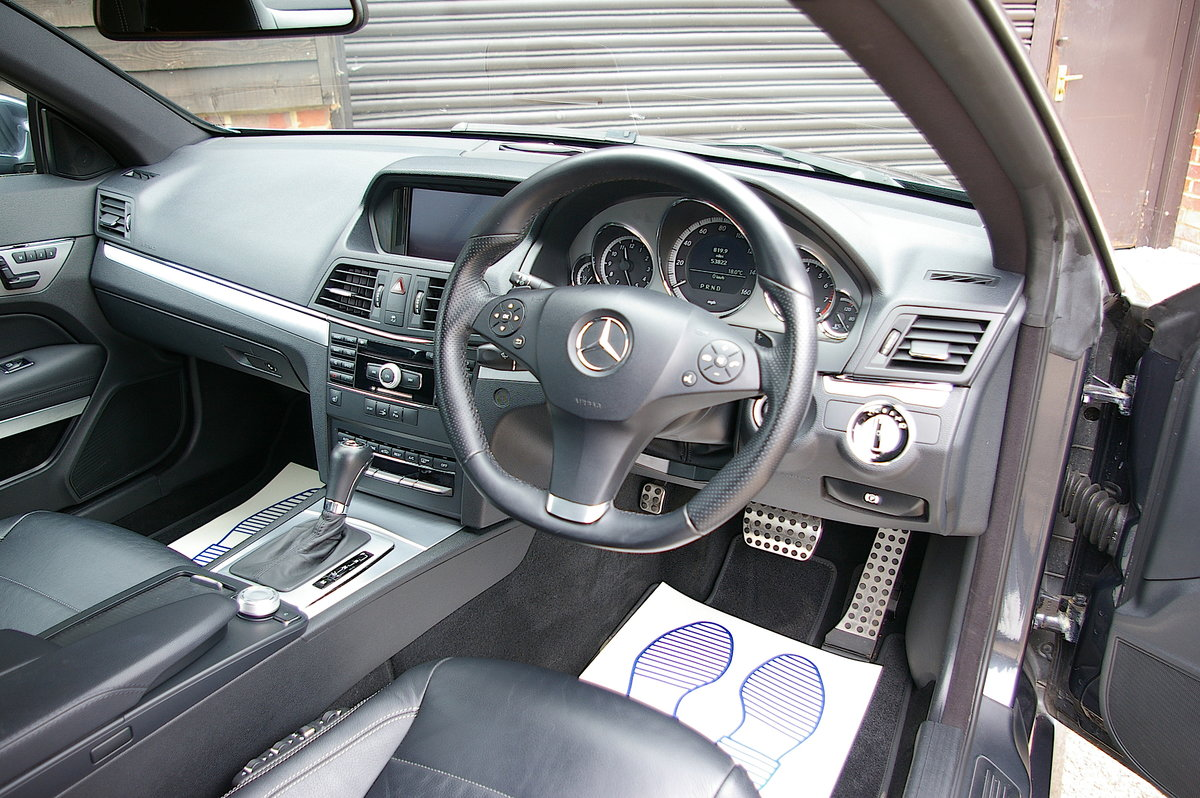 2009 Mercedes Benz E500 5.5 V8 Coupe 7G-Tronic Plus (53500 miles) For Sale (picture 5 of 6)