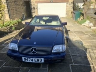1996 Mercedes SL320 Beautiful