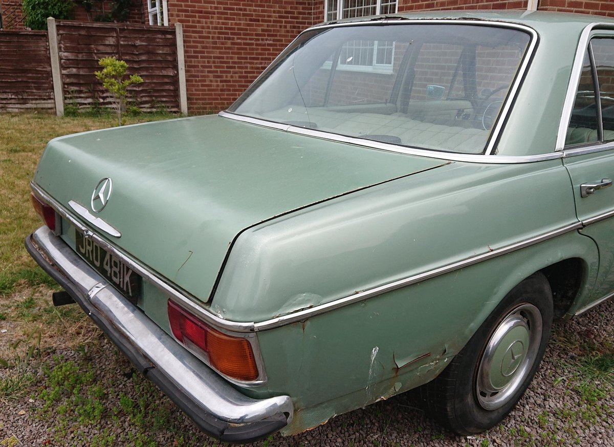 1972 Mercedes 220D (W115) LHD For Sale (picture 6 of 6)