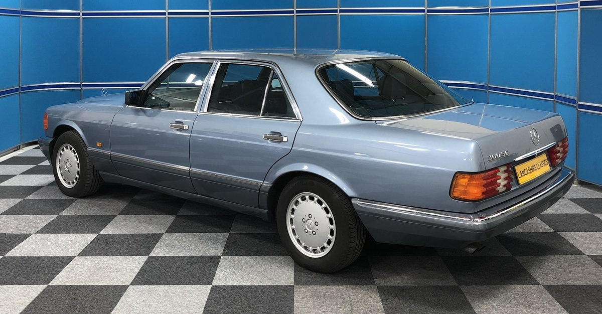 1988 Mercedes 300SE For Sale (picture 2 of 6)