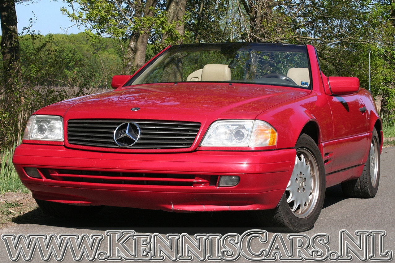 Mercedes-Benz 1997 500 SL 129-serie Convertible  For Sale (picture 1 of 6)